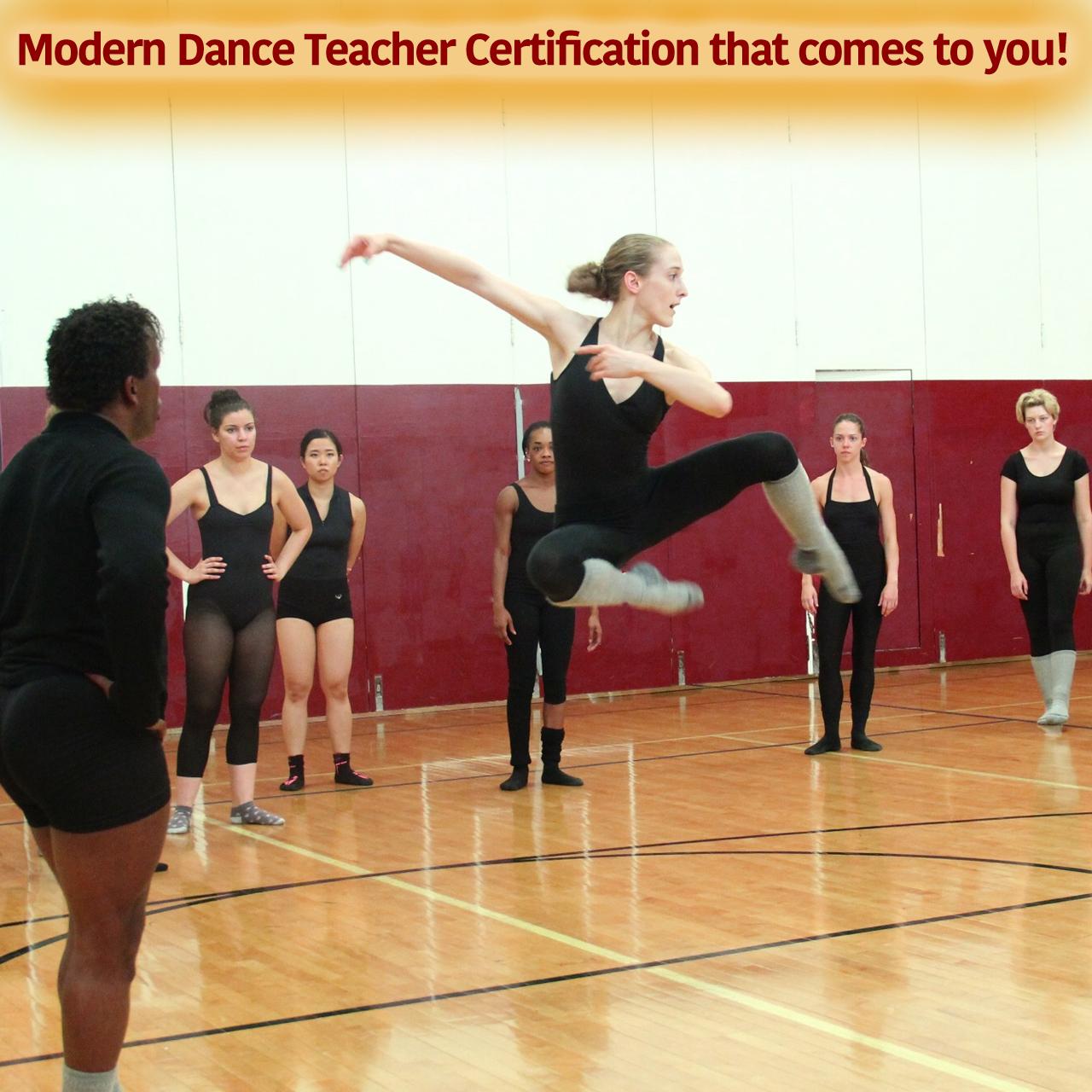 MT Modern Dance Certification - Web square