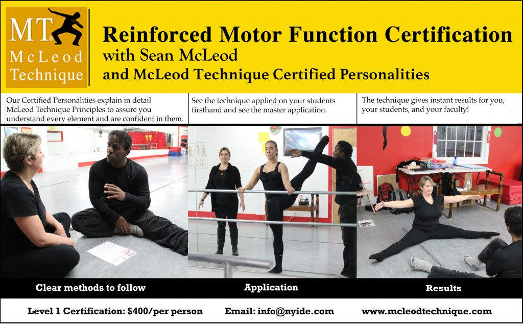 McLeod Technique - Teacher Training - ABC Center for Performing Arts -2
